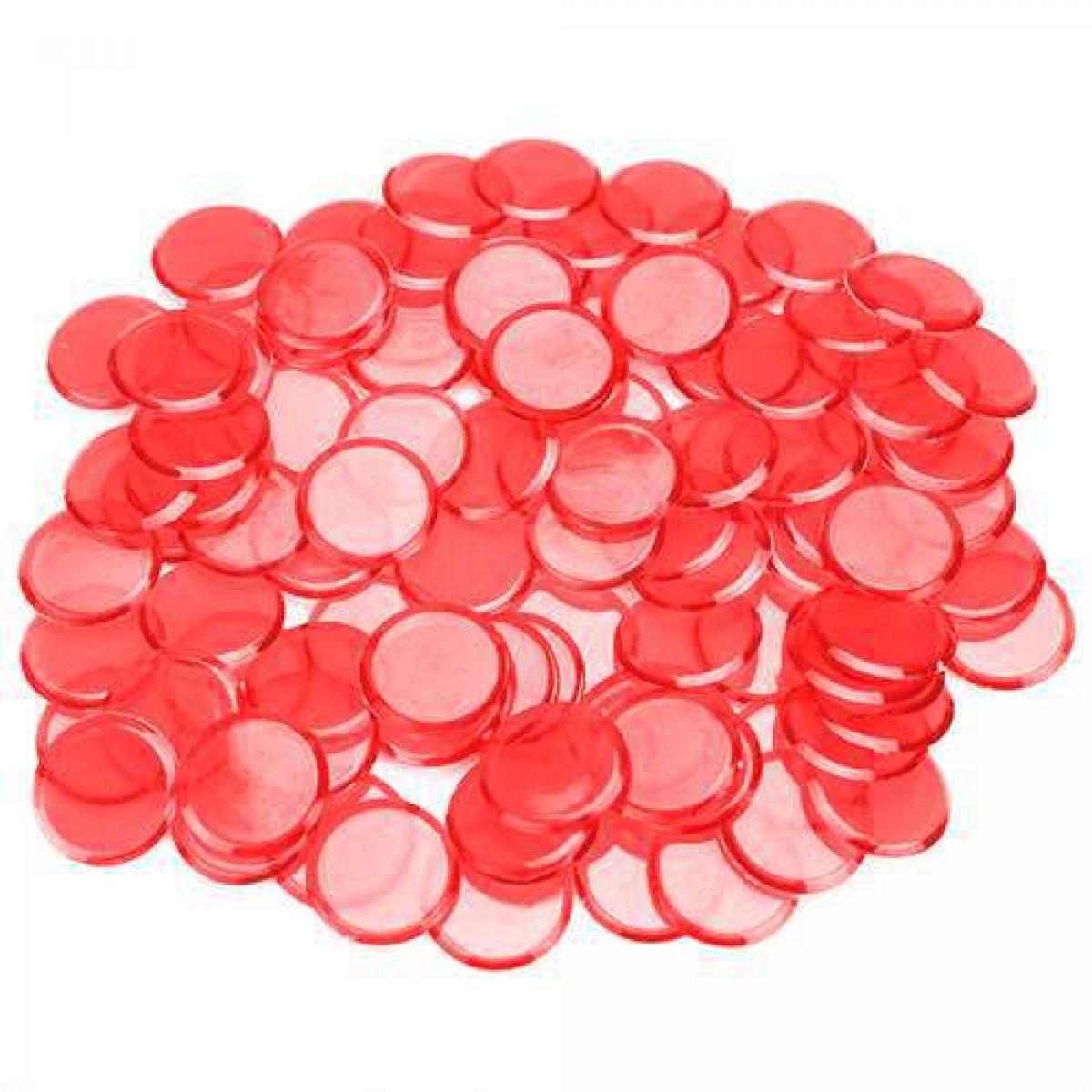 100 Pack Pink Bingo Chips