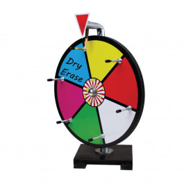 12 Inch Mini Dry Erase Colour Prize Wheel  : Entry Level
