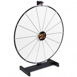 24 Inch Dry Erase White Prize Wheel Mid Grade Level