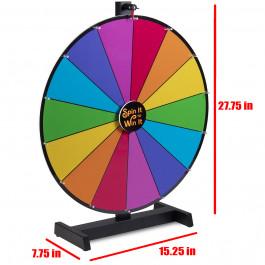 24 Inch Dry Erase Colour Prize Wheel Mid Grade Level