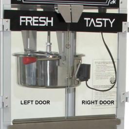 Bulleyes Popcorn Machine Replacement Doors 4oz, 8oz and 16oz