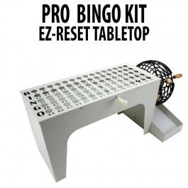 Professional Tabletop Bingo Set with ez release Kit