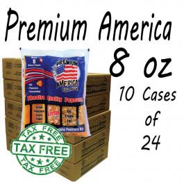 10 CASES Premium America Theatre Quality Popcorn packs 8oz