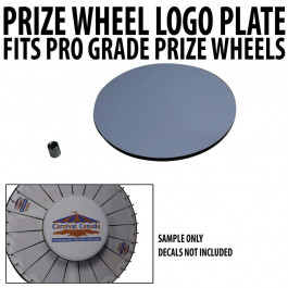 Prize Wheel Centre Logo Plate -  Customizable Kit