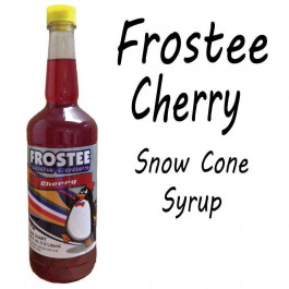 Snow Cone Syrup - CHERRY 1 QT Bottle