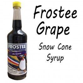 Snow Cone Syrup - GRAPE 1 QT Bottle
