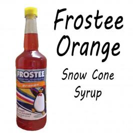 Snow Cone Syrup - ORANGE 1 QT Bottle