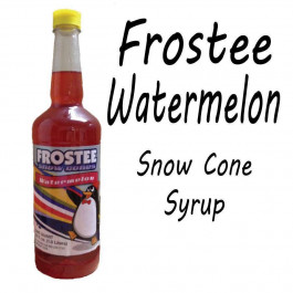 Snow Cone Syrup - WaterMelon 1 QT Bottle