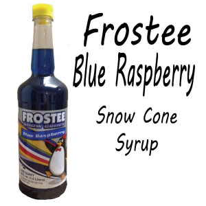Snow Cone Syrup - BLUE RASPBERRY 1 QT Bottle