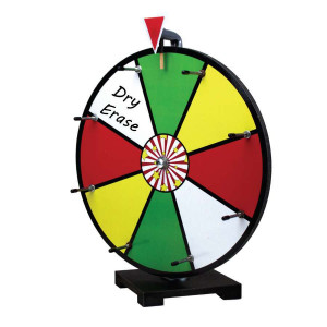 16 Inch Mini Dry Erase Colour Prize Wheel Entry Level