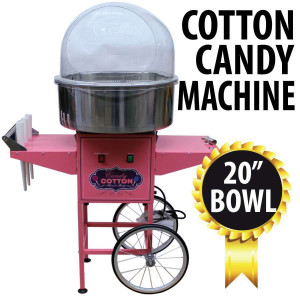 Cotton Candy  Machine with cart - Commercial Grade