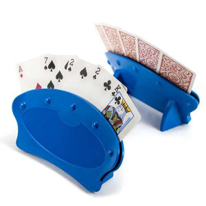 Set of 2 Hands Free Playing Card Holders