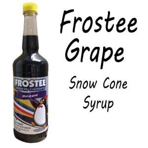 Snow Cone Syrup - GRAPE 1 QT Bottle