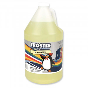 Snow Cone Syrup - Banana 1 gallon size - STORE PICK UP ONLY