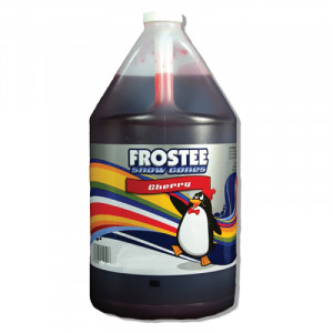 Snow Cone Syrup - Cherry 1 gallon size - STORE PICK UP ONLY