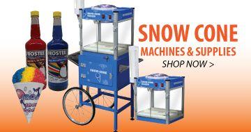 Snow Cone Machines