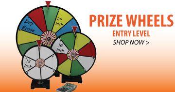 Dry Erase Prize Wheels